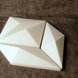 3D printed tile prototype