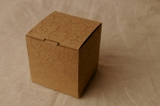 laser cut box with laser etching