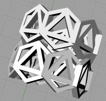 Progress shot: 3D ring, ready to send to Shapeways