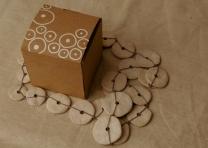 Box 3 - Laser cut box & vinyl stickers