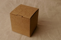 Box 1 - Laser cut box with laser etching