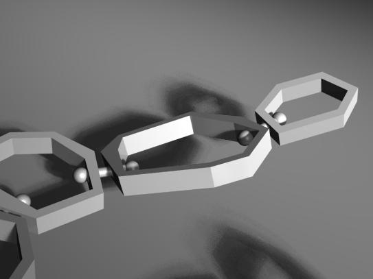 Necklace Render Detail