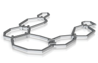 Rendered image of Chain 1 from Shapeways